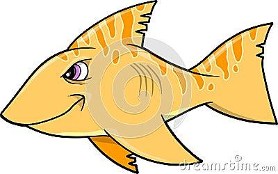 Mean Shark Vector Illustration