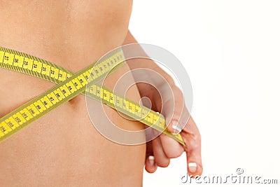 Measure abdomen