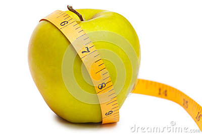 Measurement of apple