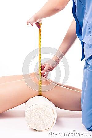 Measurement of knee