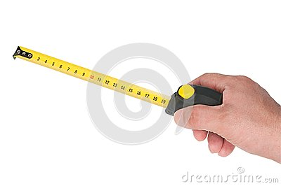 Measurement roulette in hand
