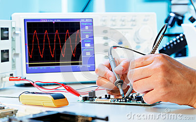 Measurement of a waveform