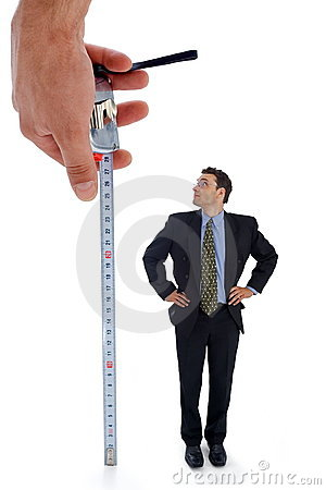 Free Measuring A Men Stock Photos - 3070543