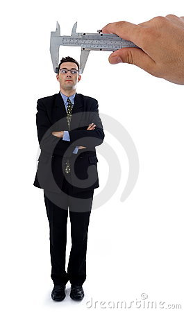 Free Measuring A Men S Head Royalty Free Stock Photography - 3070537