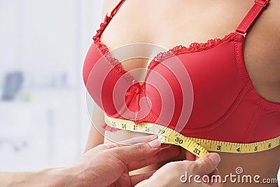 Measuring bust base size