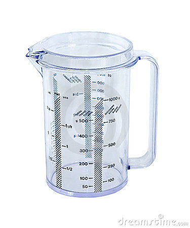 Free Measuring Cup Royalty Free Stock Photo - 16880425