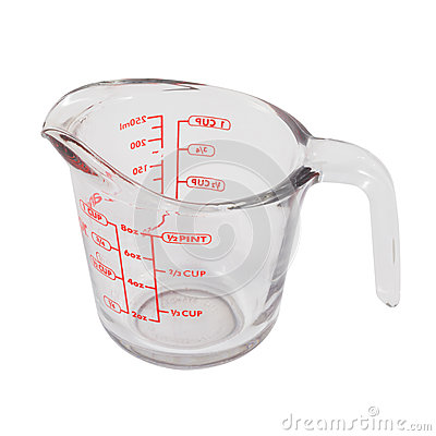 Free Measuring Cup Royalty Free Stock Photos - 58999418