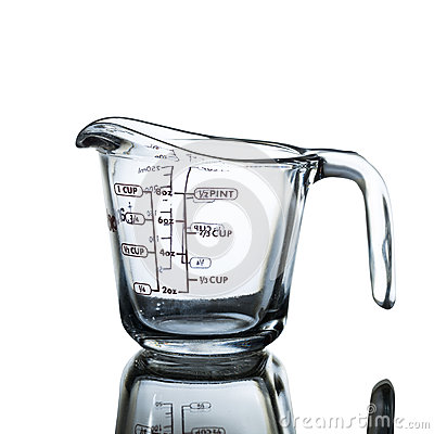 Free Measuring Cup Royalty Free Stock Photo - 60833565