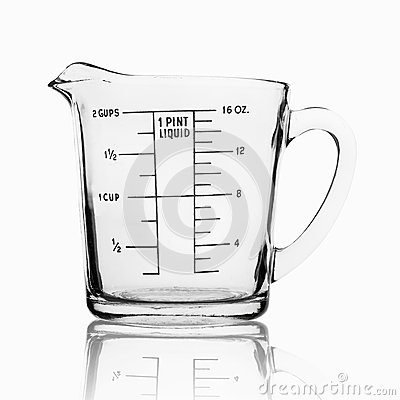 Free Measuring Cup Isolated On White Background Royalty Free Stock Photo - 56885185