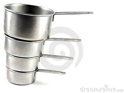 Measuring Cups Metal Set