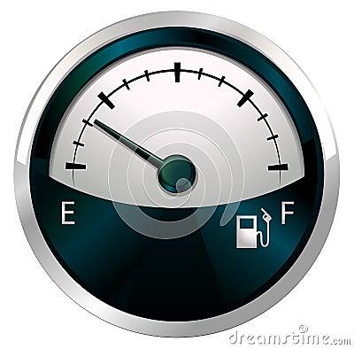 A measuring gauge