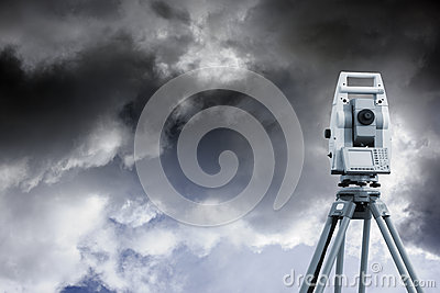 Measuring instrument and cloudy sky