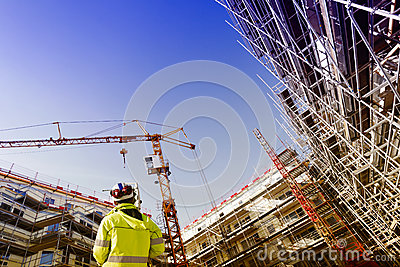 Measuring instrument, surveying and construction