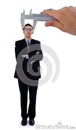 Measuring a men s head