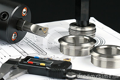 Measuring metal components