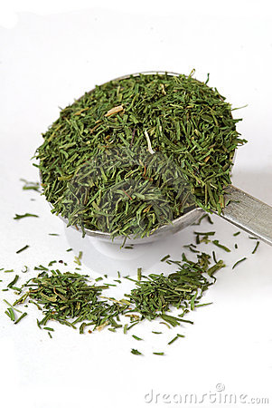 Measuring spoon of Dill Weed
