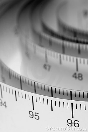 Free Measuring Tape Royalty Free Stock Images - 309819