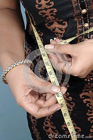 Free Measuring Waist Stock Image - 11081041