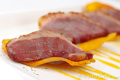 Meat on Camote