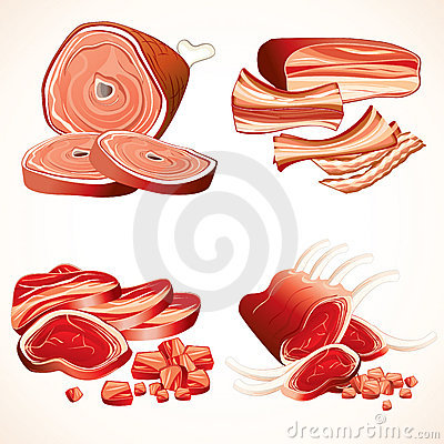 Free Meat Collection Stock Images - 14791854