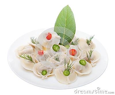 Meat dumplings