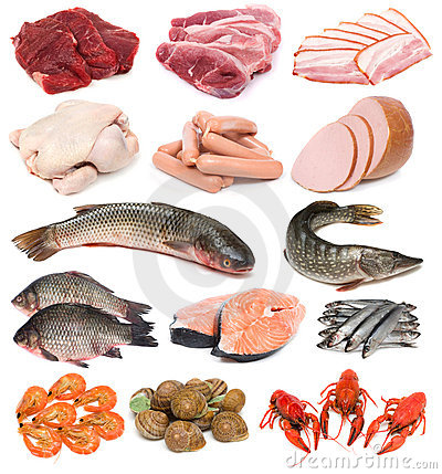 Free Meat, Fish And Seafood Stock Photo - 3582440