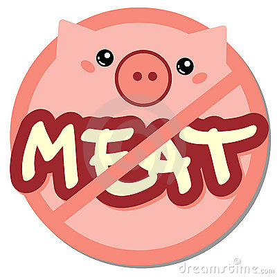 Meat forbidden