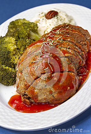 Meat Loaf Dish