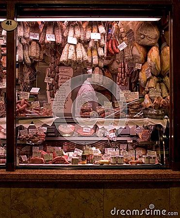 Free Meat Market Royalty Free Stock Image - 707396
