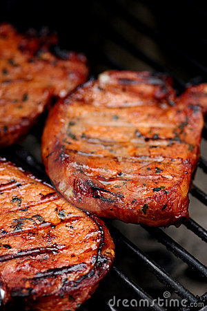 Free Meat On The BBQ Stock Photo - 161550