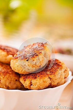 Meat patties(pork, beef, lamb)