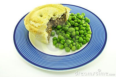 Meat Pie on a Plate