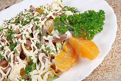 Meat salad 3