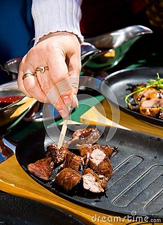 Meat sampling