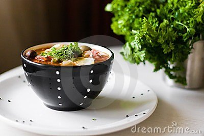 Meat Soup Royalty Free Stock Image - Image: 23997546