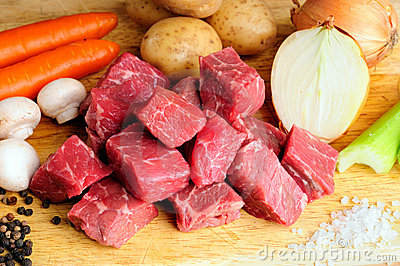 Meat And Vegetables