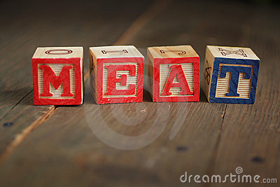Meat wood blocks