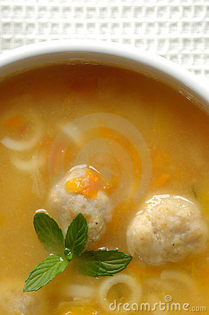 Free Meatball Soup Royalty Free Stock Photography - 11516017