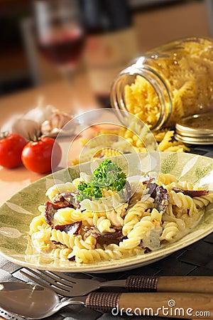 Meaty Italian Pasta