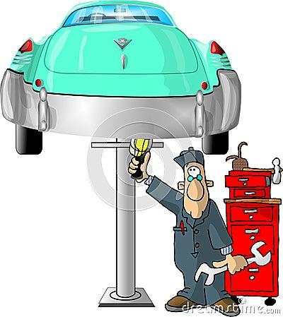 Mecánico auto