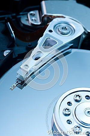 Mecanismo impulsor de disco duro