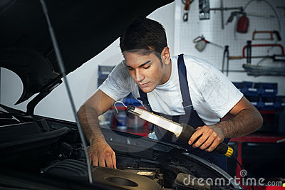 Mechanic Stock Photos - Image: 10195993
