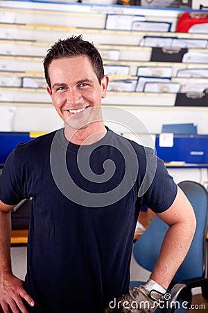 Mechanic Portrait Man