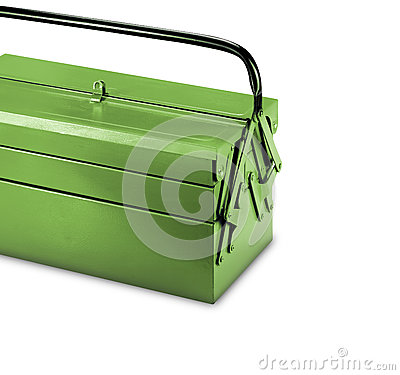 Free Mechanic S Basic Tool Box With Set Of Spanner Royalty Free Stock Images - 75792239