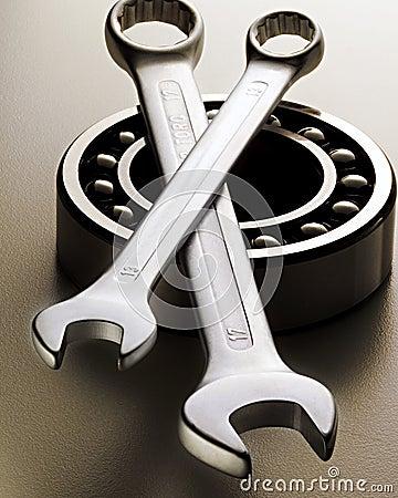 Free Mechanic Tools Royalty Free Stock Photography - 15681947