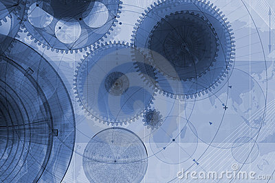 Mechanical Background Royalty Free Stock Photo - Image: 5988495