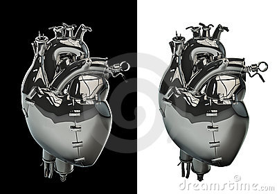 Mechanical chrome heart