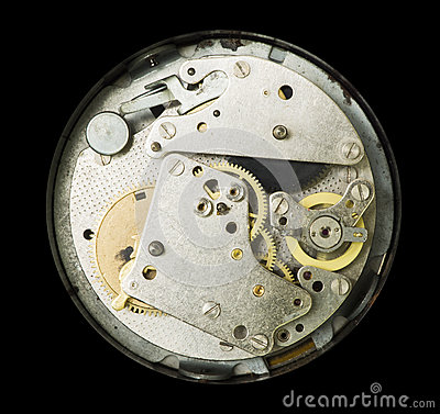 Mechanical clockwork