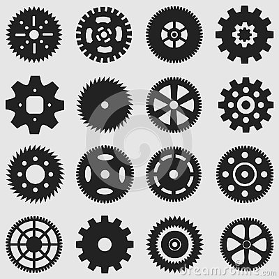 Free Mechanical Cogs And Gear Wheel Royalty Free Stock Images - 35097949