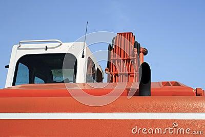 Mechanical digger cab